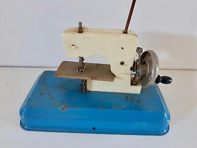 1950's Toy Child's sewing machine metal and plastic