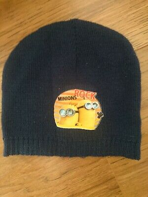 Boys toddler One Size Minion beanie Hat