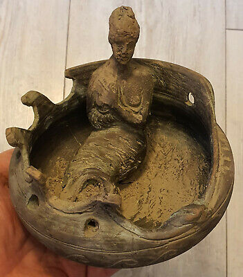 Extremely Rare, Clay, Pottery, Ritual Vessel  ,Micenian ,circa 1100- 900 BC