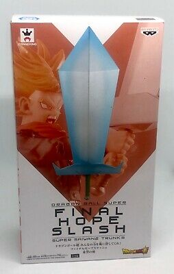 Banpresto Dragon Ball Z Super Saiyan 2 Trunks Final Hope Slash Sword Figure