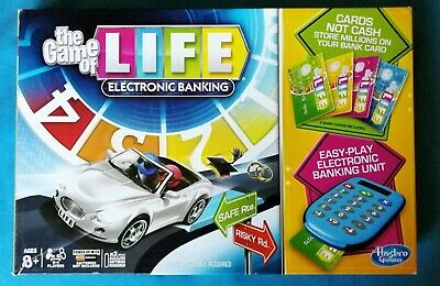 THE GAME OF LIFE : ELECTRONIC BANKING ~ BOARD GAME by HASBRO