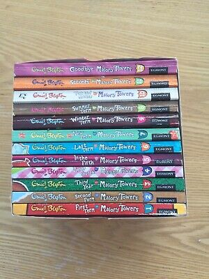 Enid Blyton Malory Towers Complete Collection of 12 Books School Stories