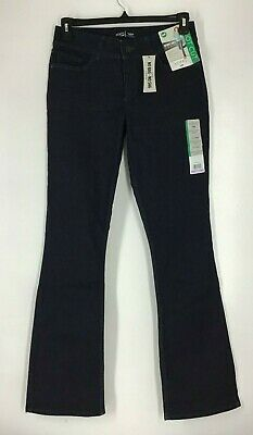 NWT Riders By Lee Women's Size 12 Long Bounce Back Denim Mid Rise Bootcut Jeans