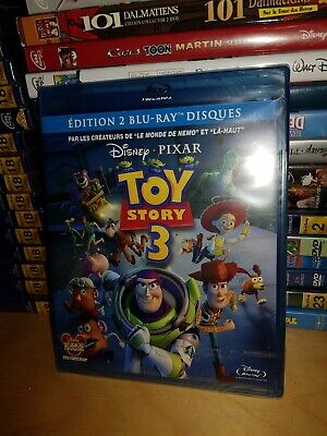 Blu Ray Disney toy Story 3 Neuf