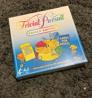 Hasbro Trivial Pursuit Family Edition Game - E1921
