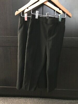 Two Pairs Of Boys School Trousers Age 4