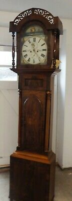 Longcase Grandfather Clock Victorian 1851 Sunderland make good working cond