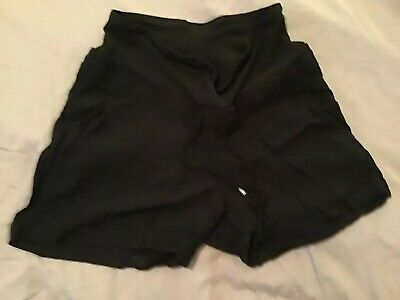 H&m Size 10 Maternity Shorts Black Over The Bump