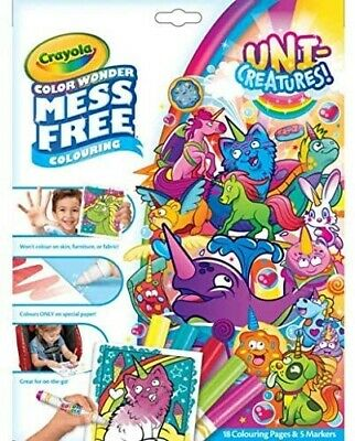 Crayola Uni Creatures Colour Wonder