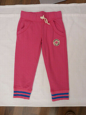 bnwot CONVERSE Girls pink  pants with pockets  sz 10-12 y, 140-152 cm