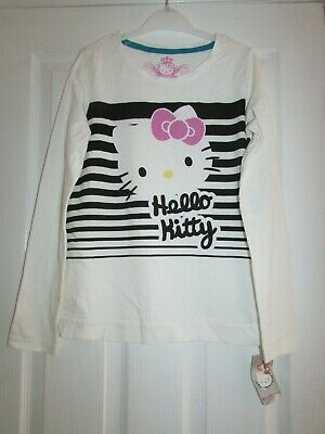 girls lovely Hello Kitty design top from M&S age 11-12yrs,BNWT