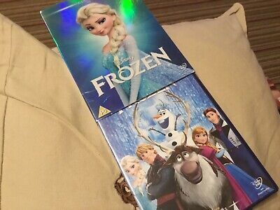 New Sealed Disney Classic No52 Frozen DVD With Outer Slipcover