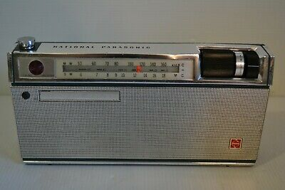 Collectable  National Panasonic R-230H 10 Transistor Radio