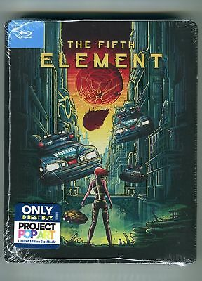 The Fifth Element (Disque Blu-Ray, Steelbook Uniquement At Meilleur Achat ) Neuf