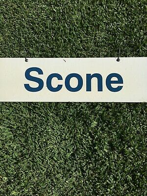 City Rail Station Destination Double Sided sign (Scone) (760 x 230mm)