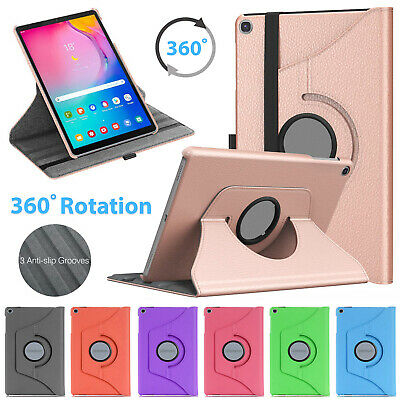 "Samsung Galaxy Tab A 10.1"" 2019 T510 T515 Leather 360 Rotating Tablet Case Cover"