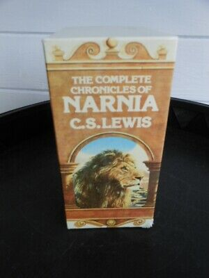 The Complete Chronicles Of Narnia.boxed Set- C.s.lewis -Lions 1990 P/B