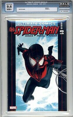 Ultimate Comics: Spider-Man #1 - HALO Graded 9.6 (NM+) 2011 - First Issue