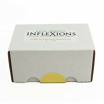 Game Of Thrones Inflexions Gold Platinum Edition Parallel Set (Only 40 Made!)