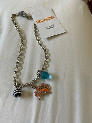 NWT outlet shore to love crab charm necklace HCB Gymboree
