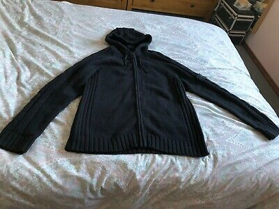 Men's Stone Island knitted hoodie jumper size XL