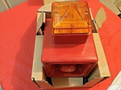 E2S AL105NDC24 R/A Flame Retardant Sounder Beacon