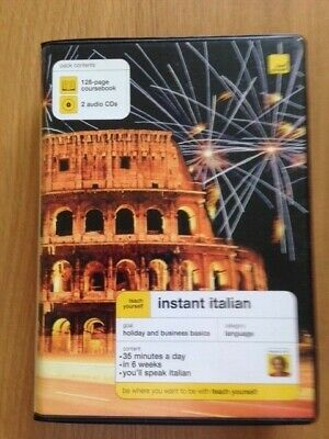 Teach Yourself Instant Italian by Elisabeth Smith (Mixed media product, 2006)