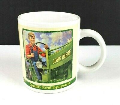2005 John Deere Moline Illinois Collectors Series Coffee Mug Cup #31451