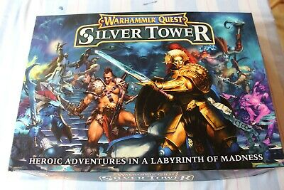 Games Workshop Warhammer Quest Silver Tower Boxed Game New Fantasy OOP
