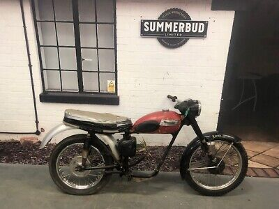 Triumph Tiger Cub Rolling Chassis Project US Import Barn Find Classic 1958