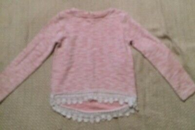 Young Dimension Girls Crochet Trim Jumper Age 11-12Years