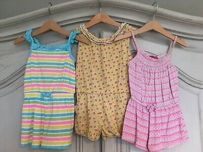 Mothercare & Primark Girls Playsuits 2-3 years