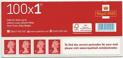 100 First Class Royal Mail Self Adhesive Postage Stamps  Beat The Price Rise.