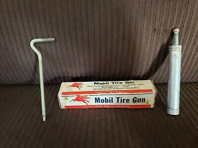 Vintage Socony Mobil Oil Pegasus Gas Service Station Tire Gun TG-1 Original Box!