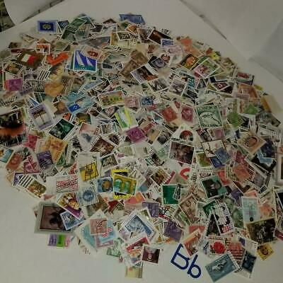 8.4 oz used cancelled postage stamps off paper US International worldwide B