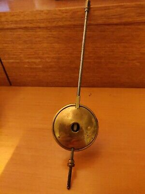 Antique Brass Clock Pendulum. Mantel or wall clock.