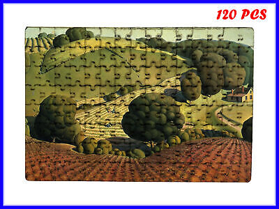 Grant Wood - Young Corn Art Paint - 120 Piece Jigsaw Puzzle