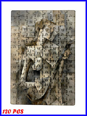 Pablo Picasso - Girl with mandolin Art - 120 Piece Jigsaw Puzzle