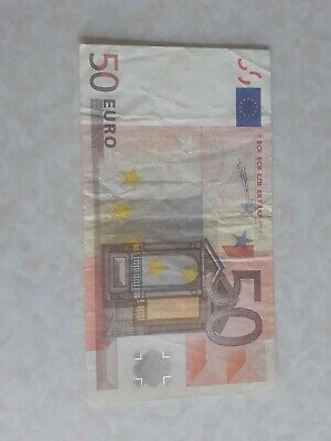 50 Euro Paper Bank Note 2002