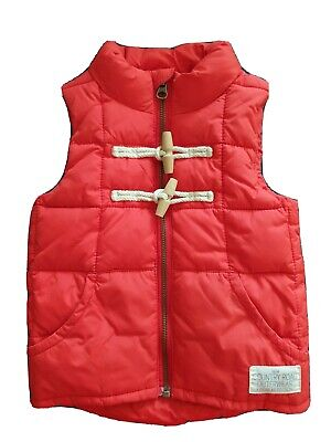 Country Road Designer Red Padded Puffer Vest Size 2