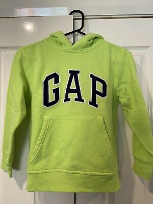Gap Hoodie Lime Green Size 8-9 Years Great Condition