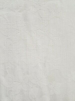A Beautiful Vintage Embroidered Linen Table Cloth  126cm x 122cm