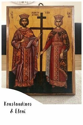 Greek Orthodox Hand Made Icons