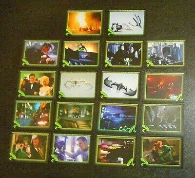*18 x BATMAN FOREVER TRADING CARDS/STICKERS - TOPPS 1995-FREE POST*