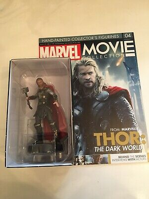 "Thor - Marvel Eaglemoss Figure & Magazine Issue 4 ""Movie Collection"""
