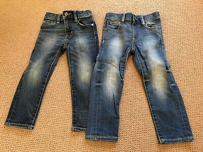 2 x BabyGap 1969 Blue Skinny Jeans (Size 3) - Excellent Condition