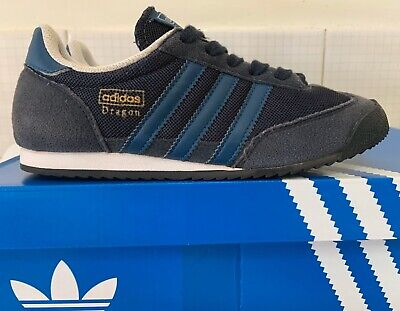 ADIDAS Dragon Sneakers Boys US4 Runners School Rom - Great Overall Condition!!!!