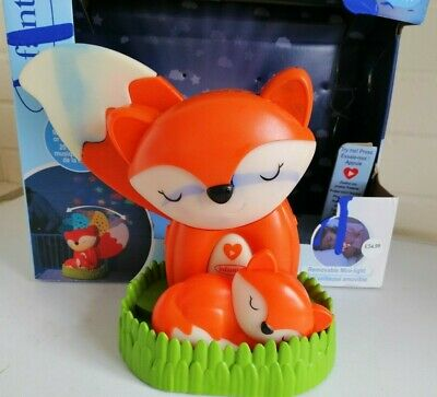 Infantino Go Gaga! 3-in-1 Musical Soother & Night Light Projector Fox