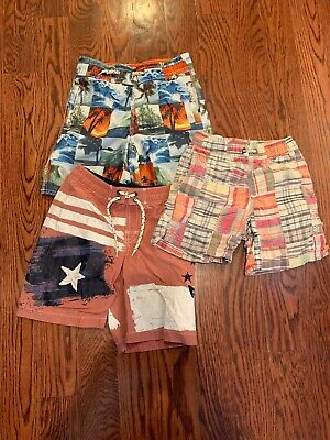 Baby Gap Size XS Baithing Suits 3 Pairs 4/5 Year Old