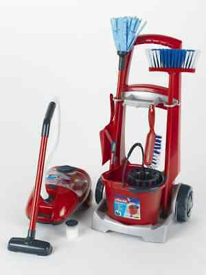 Theo Klein Vileda Cleaning Trolley with Accessories For Ages 3+ and Above
